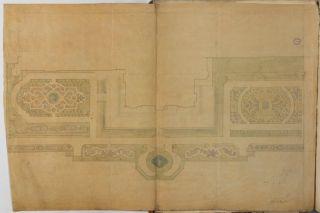 WorsleyNewHall_GardensWiorking Drawing1840s